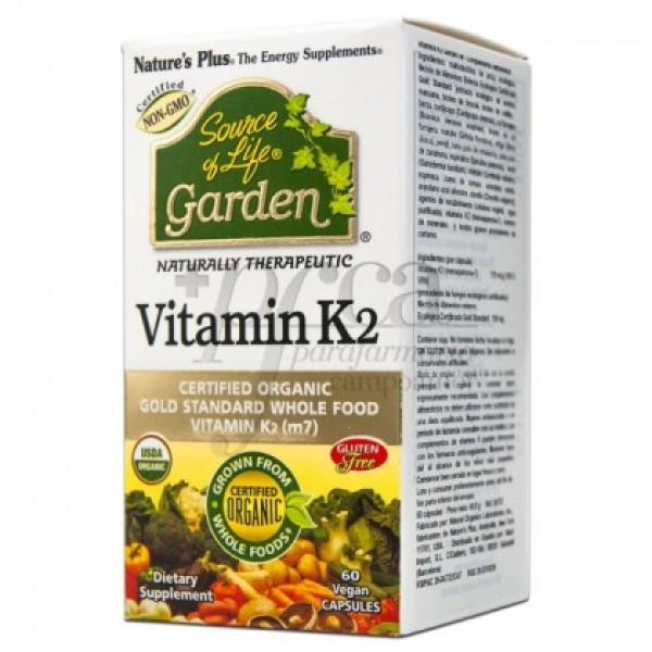 VITAMIN K2 60 CAPS NATUR IMPORT