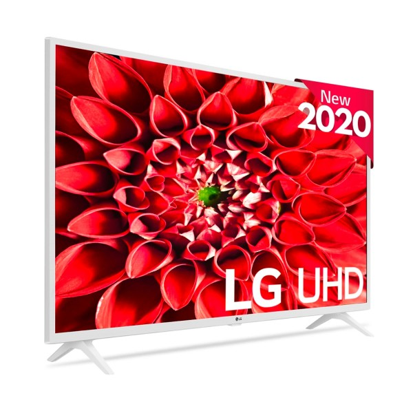 Lg 43un73906le blanco televisor 43'' lcd led 4k hdr smart tv webos 5.0 wifi bluetooth hdmi usb