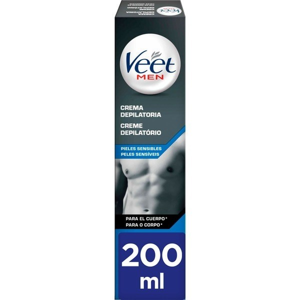 Veet crema depilatoria Men Pieles Sensibles 200 ml